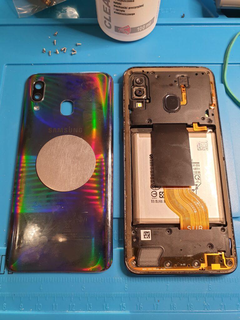 wymiana wyświetlacza Samsung