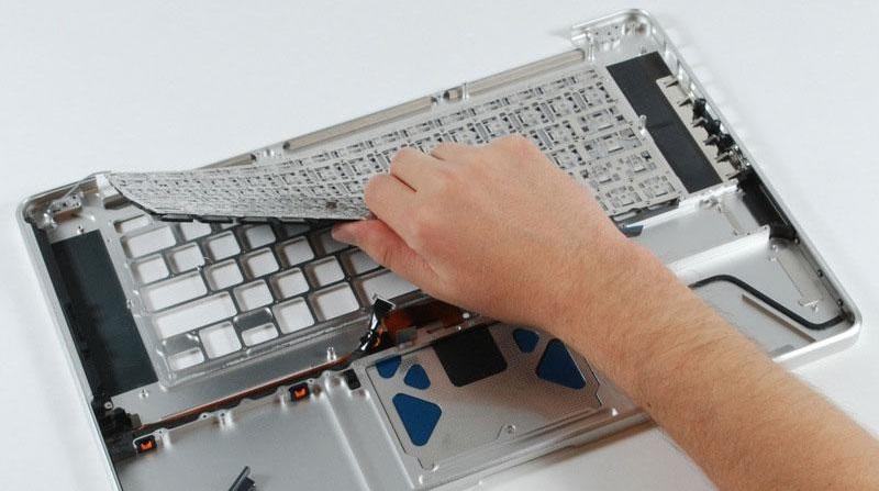 macbook wymiana klawiatury
