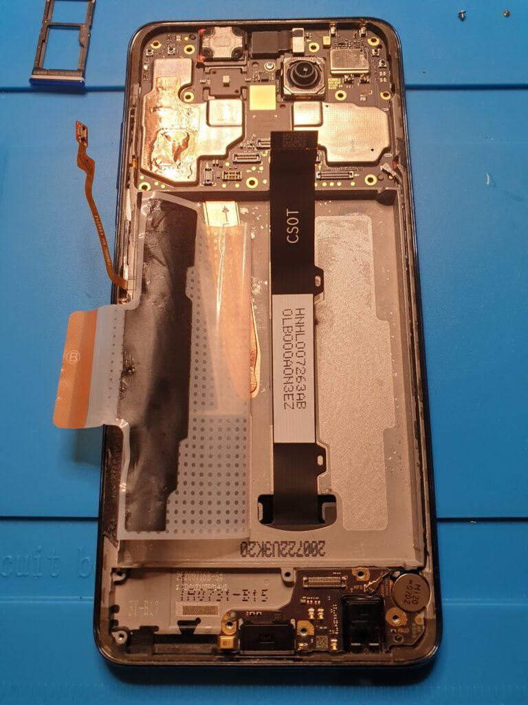 wymiana baterii poco X3 NFC