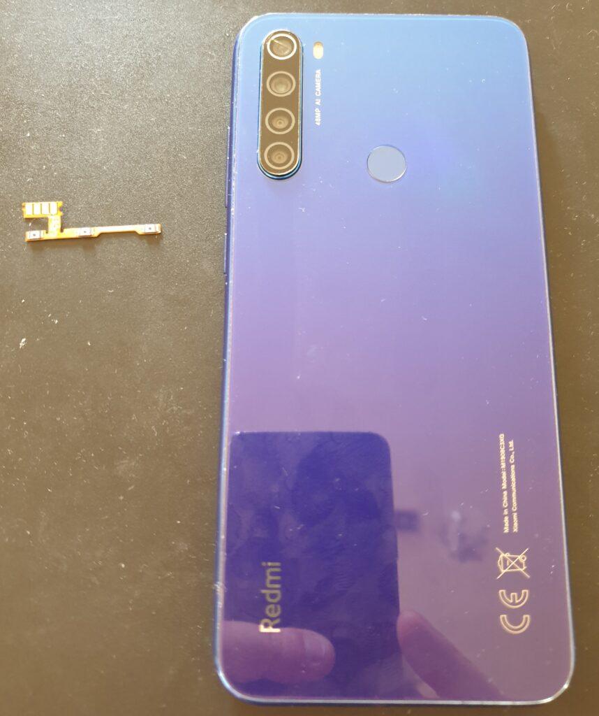 Redmi Note 8T tylna klapka