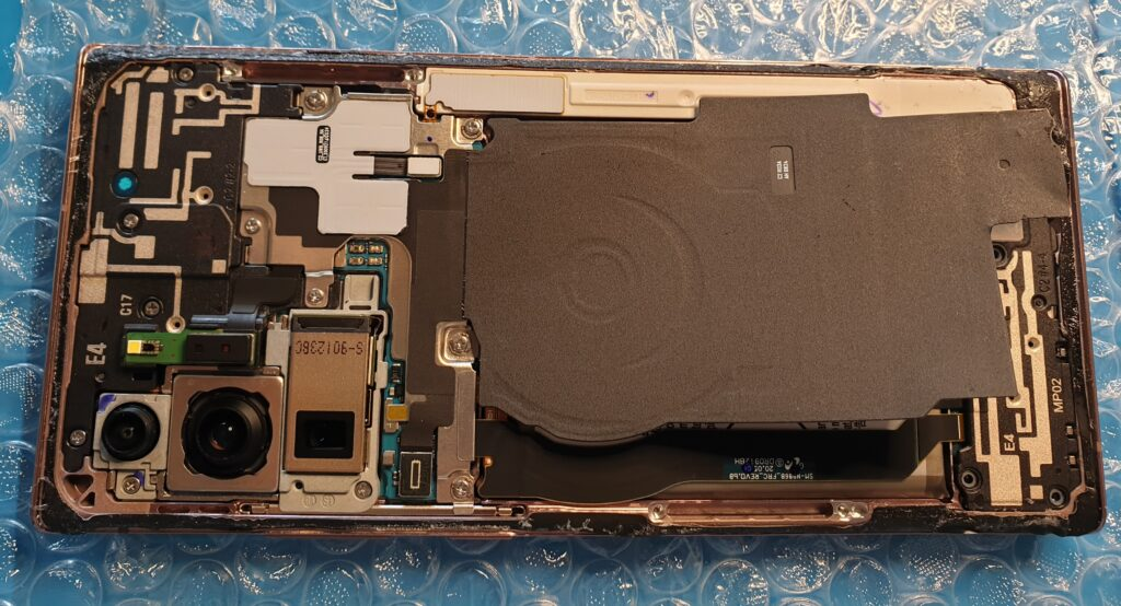 Samsung Note 20 Ultra bez klapki